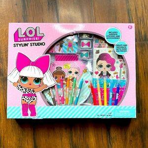Lol Surprise Stylin Studio Art Kit NEW